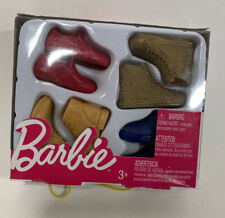 Barbie Ken Shoes Pack 4 PR Doll Accessories Mattel SNEAKERS BOOTS Ship