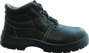 Zephyr Leather Safety Boot with Steel Toe and Midsole