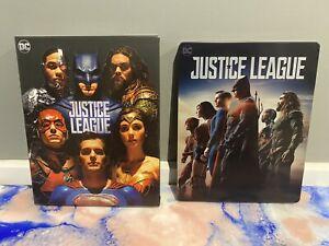 Justice League Manta Lab Full Slip 4K Bluray Premium Steelbook in VGC