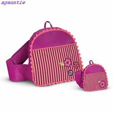 Brand New With Tag American Girl Bitty Baby BACKPACK SET For Girl & Doll