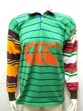 Vintage Canterbury New Zealand Rugby Polo Long Sleeve Shirt Jersey sz L