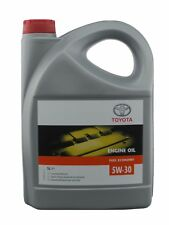 GENUINE 5 LITRES TOYOTA 5W30 5 30 SYNTHETIC BLEND MOTOR ENGINE OIL