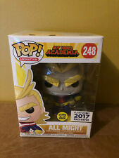 Funko POP All Might GITD Glow in the Dark Funimation My Hero Academia #248