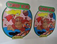 Nintendo Donkey Kong Arcade Game Side art decal set