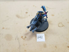 Warhammer 40k Space Wolves Wolf Lord on Thunderwolf