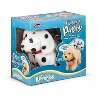 Animigos Flipping Puppy Dalmatian Dog Walking Jumping Barking B'Day & Xmas Gift