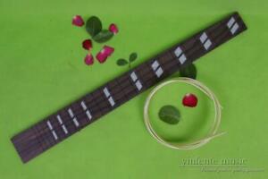 New guitar Fretboard 22fret 24.75inch Rosewood Parallel Diamond DIY Guitar