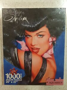 Bettie Page By Olivia - Aquarius Puzzle - Brand New Sealed