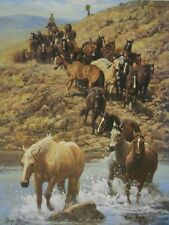 """Along the Trail"" Wayne Baize Limited Edition Print"