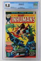 Inhumans #1 -MINT- CGC 9.8 NM/MT - Marvel 1975 - Blastaar App!