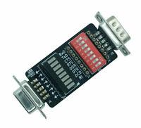 GGLABS T232 - serial RS232 mini signal breakout and monitor DB9M-DB9F - COM port
