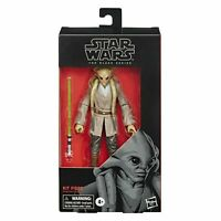 Star Wars The Black Series Kit Fisto Action Figure 6-Inch Scale Hasbro