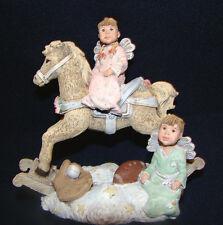 "Sarah's Attic Figurine Horsin Around 1995 Limited Edition #4445 Signed 5.5"" @6"