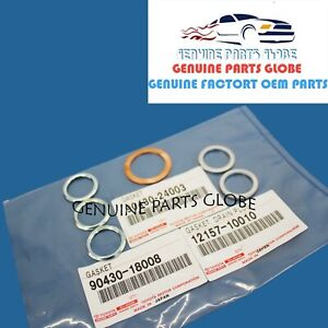 GENUINE OEM TOYOTA 4RUNNER TACOMA TUNDRA TRANSFER AND DIFFERENTIAL GASKETS SET