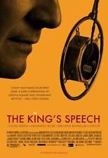 THE KING'S SPEECH Movie POSTER 27x40 B