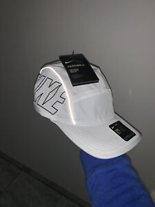Nike AW84 Aerobill White hat. Brand New with tags