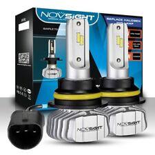 NOVSIGHT H13 9008 10000LM Car LED Headlight Kit Hi/Lo Beam Bulbs 6500K HID White