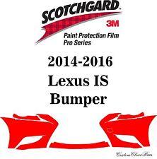 3M Scotchgard Paint Protection Film Pro Series Pre-Cut 2014 2015 2016 Lexus IS