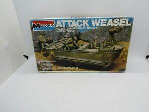 Monogram Attack Weasel Tank Vehicle Model Kit 1/35 6303 Free Shipping