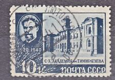 RUSSIA SU 1940 USED SC#780 10kop, Timiryasev, scientist and professor of agric.