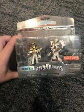 New Funko HeroWorld - Power Rangers White Ranger Tigerzord Mini-Figure Set