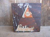 """Vintage Wood Box Test Kit for """"Magnesol"""""""