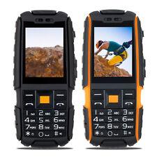 2SIM Rugged Mobile Phone Long Standby IP67 Stereo Unlocked Power Bank Flashlight