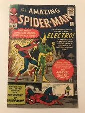 AMAZING SPIDER-MAN #9 // 1st App ELECTRO // FN