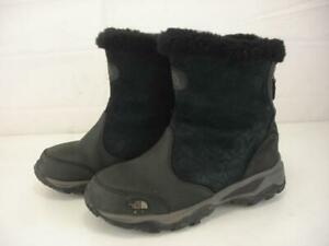 Women's 6.5 M The North Face Shellista Black Waterproof Insulated Winter Boots
