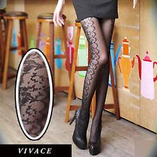 K91 Japan Fashion Elegance Lace Floral Pantyhose Stocking