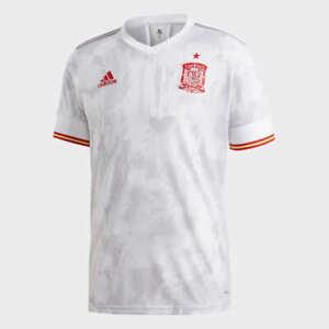 Adidas Men's 2020-2021 Spain Away Football Soccer T-Shirt Jersey EH6514