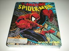 The Amazing Spider-Man Spiderman game for Commodore 64 & 128. New.  Minor blem.