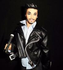 Adam Lambert ~ Celebrity singer barbie KEN doll ooak custom repaint DAKOTAS SONG