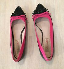 ALANNAH HILL Leather Flats Sz 7.5 Lightly Worn FREE POST!