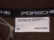 PORSCHE DESIGN DRIVER'S SELECTION NOS OLIVE POLO SHIRT USA:SIZE M, EURO:L NIBWT