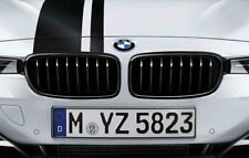 BMW M Performance Genuine Front Left/Right Pair of Kidney Grilles Black F20/F21