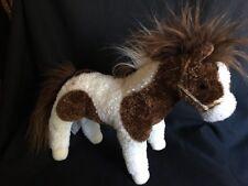 CAVALIA PICO PAINTED Horse brown white 2011 Douglas Cuddle Toy 19 x 12'' Plush