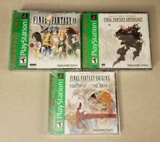 Final Fantasy: Origins I II + Anthology V VI + IX - PlayStation 1 PS1 Lot NEW!!