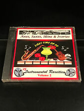 Various Artists-Axes Saxes Skins & Ivories Volume 2-CD-New Sealed-Beat Records