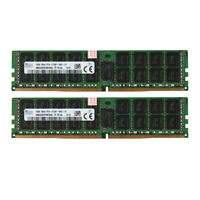 2x For Hynix 16GB 2Rx4 PC4-2133P 17000 DDR4 ECC Server Memory RAM 288pin CL15 DQ