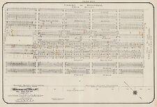 1913, CHARLES E. GOAD MONTREAL, CANADA, NOTRE DAME DE GRACES WARD COPY ATLAS MAP