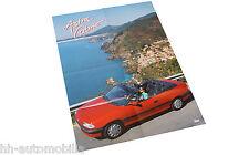 Poster Opel Astra Cabriolet Beilage Opel Magazin Start 90er Jahre Auto PKWs