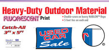 USED CAR SALE Banner Sign vehicle car lot clearance buy here pay here bad credit