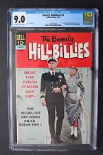 BEVERLY HILLBILLIES #15 Dell Comics File Copy 1966 TV PHOTO Cover CGC VF/NM 9.0