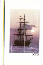 Collezionismo Cartaceo - Menu - Costa Crociere - Daphne - Dinner on Bay -  1991