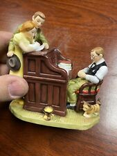 norman rockwell figurine gorham New In Box The Marriage License
