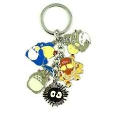 Japanese Anime My Neighbor Totoro Metal  Keychain Key Ring USA SELLER