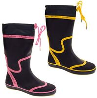 Ladies SEAFARER Wellington Boots Womens Waterproof Rain Wellies Size 3 4 5 6 7 8