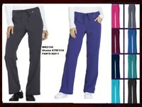 Dickies Xtreme Stretch Scrubs Womens Pants 82011 All Colors,All Sizes NWT