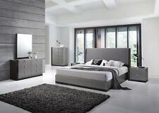 J&M Sorrento King Size Bedroom Set 5pc. Chic Modern Style Design